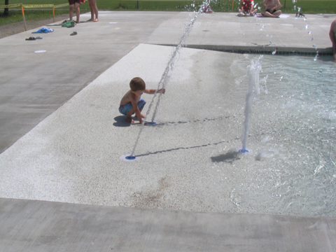 The New Pool Has A Handicap Accessible Zero Entry Area, Additional Shallow  Water For Recreation And Learn To Swim Programs, A Slide, And A Lap Area  For ...