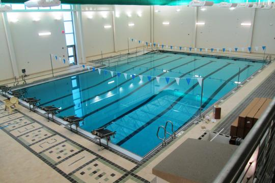 New school swimming pool design school swimming pool plan for Pool design rochester ny