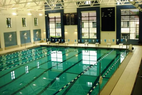 Pool design projects aquattica pools and water parks for Rogers high school swimming pool